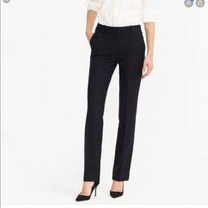 J Crew | Campbell Wool Pinstripe 120 Trousers